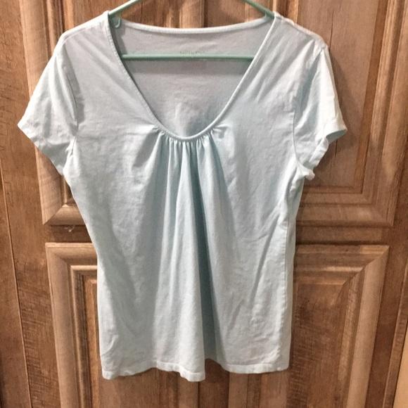Mint Green Color Merona Brand Short Sleeve T-Shirt
